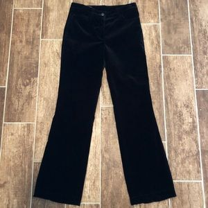 💥 ESCADA 💥 Women's Velvet Pants 34/XS Black